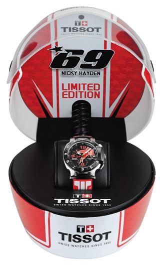 Tissot presenta la Collezione MotoGP™ 2012