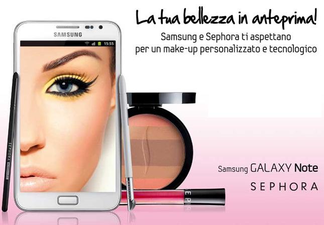 Prova il make-up tecnologico grazie a Sephora & Samsung!