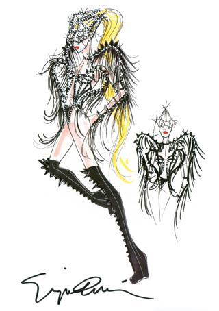 Giorgio Armani per Lady Gaga