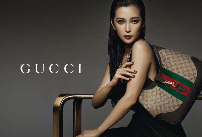 Li Bing Bing per Gucci