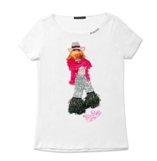 Piggy invade le t-shirt Pinko