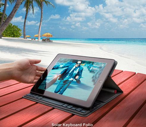 Una cover solare per iPad? Ovviamente è Logitech