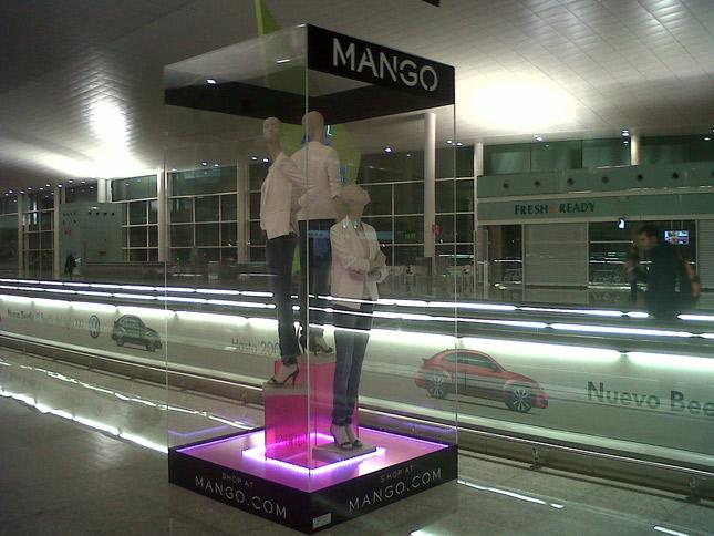 Mango apre all 39 aeroporto di barcellona fashion times for Zara nuova apertura