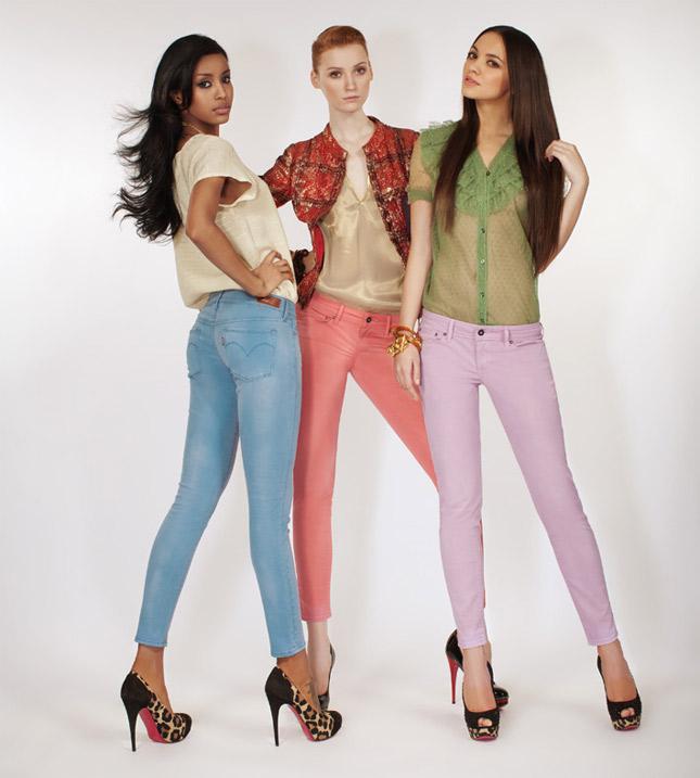 jeans colorato per levi's