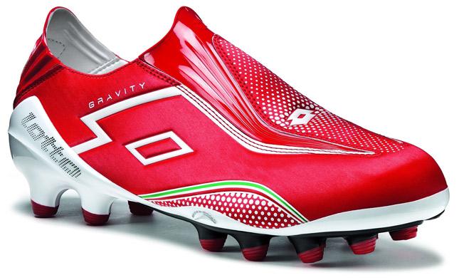 scarpa da calcio lotto senza lacci