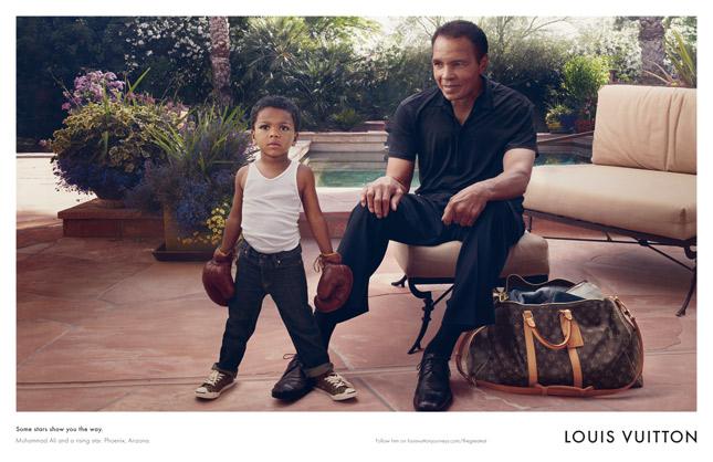 Muhammad Ali per la nuova campagna Core Values di Louis Vuitton