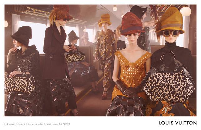 Steven Meisel per Louis Vuitton Autunno/Inverno 2012-2013