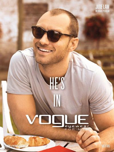Jude Law per Vogue Eyewear for Men