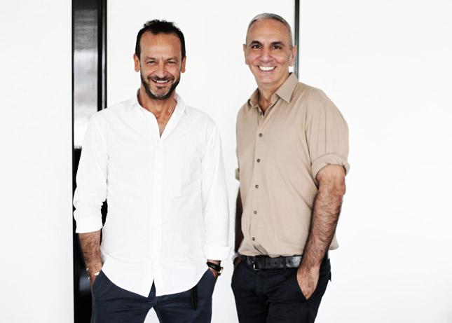 Paolo Gerani, AD Gilmar e Alessandro Dell'Acqua