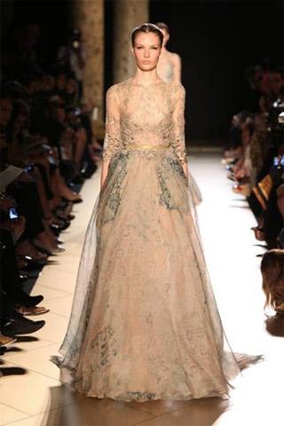 Elie Saab a Paris Haute Couture
