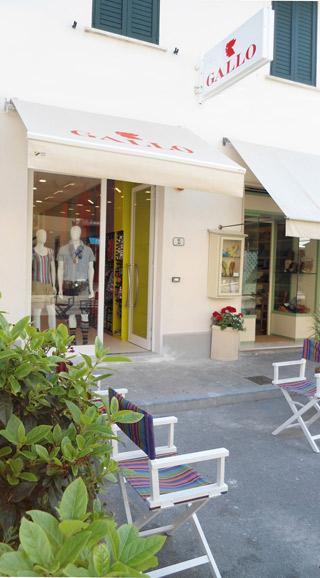 Boutique Gallo a Forte dei Marmi