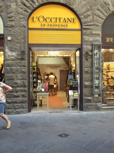 L'Occitane en Provence apre a Firenze