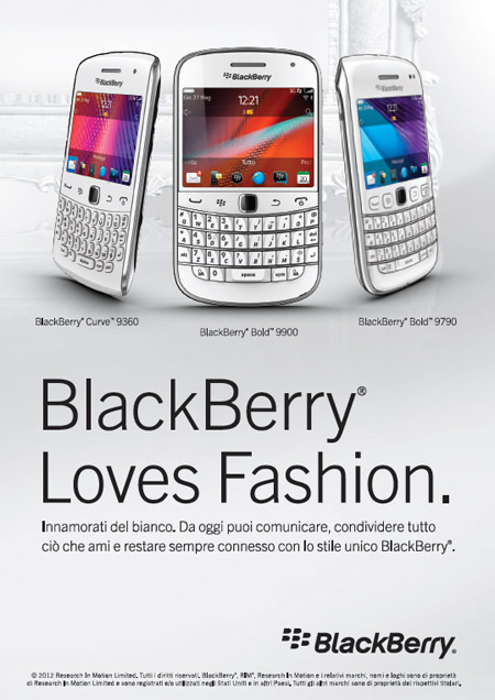 Blackberry Loves Fashion