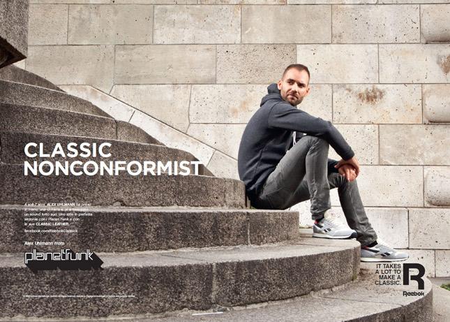 Reebok lancia la nuova campagna Classics, con protagonista Alex Uhlmann dei Planet Funk