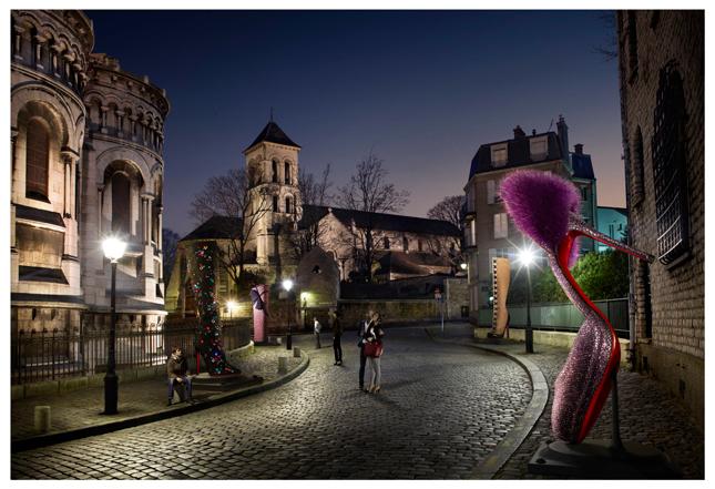 Parigi per l'Autunno-Inverno 2012/2013 di Christian Louboutin