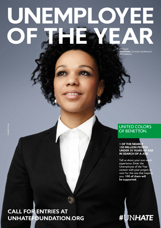 BENETTON: UNEMPLOYEE OF THE YEAR