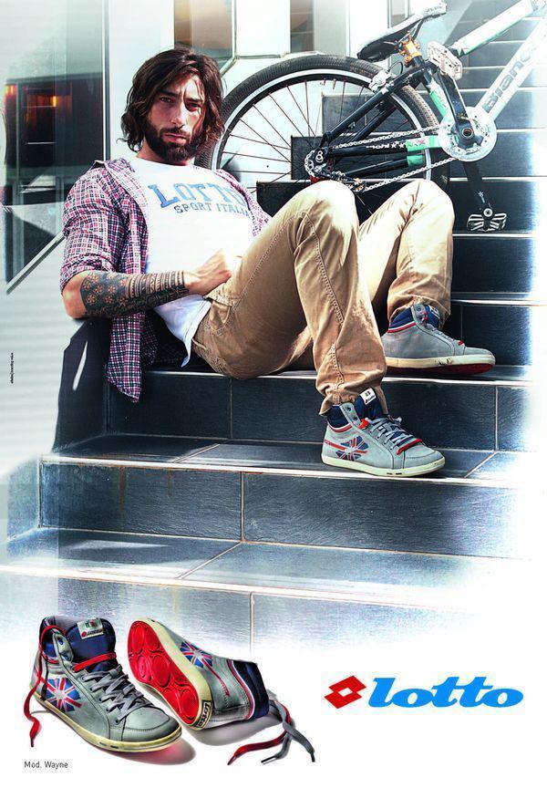 Vittorio Brumotti per Lotto Lifestyle