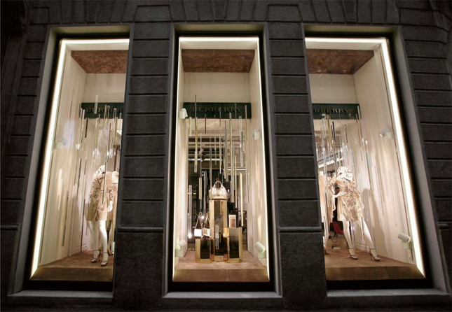 Boutique Burberry Woman a Milano