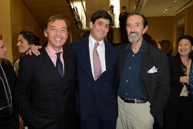 Rinaldo Modenese, Davide Traxler e Giovanni Gastel