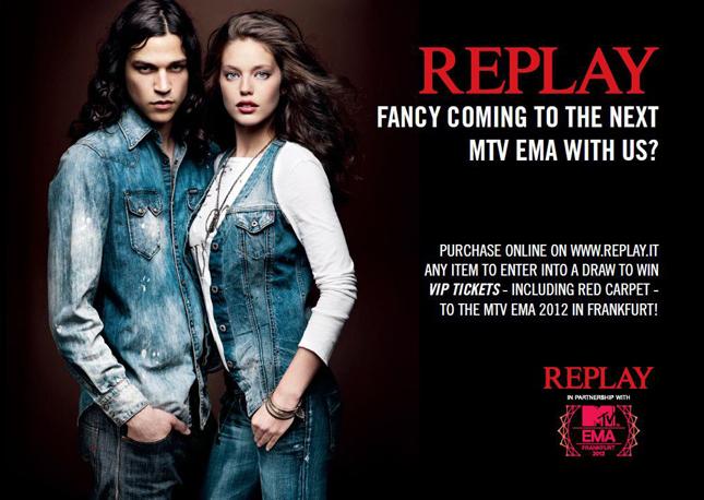 Replay agli MTV Europe Music Award 2012