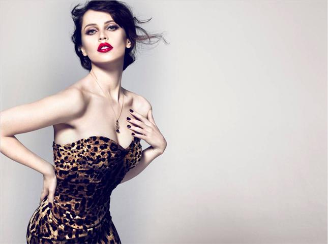 Felicity Jones per Dolce&Gabbana