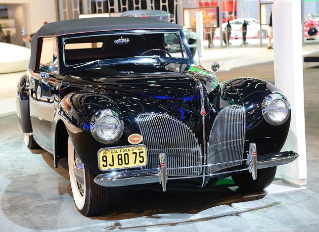 los angeles auto show lincoln auto lusso