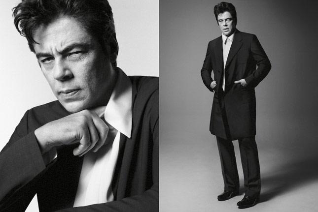 Benicio Del Toro per Prada Spring-Summer 2013