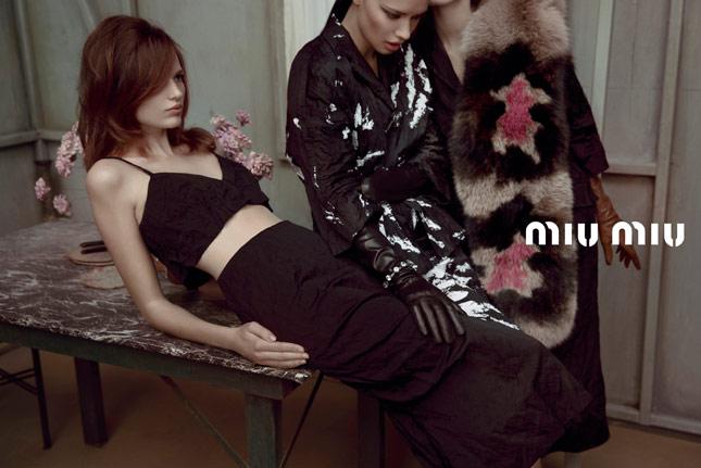 Miu Miu Spring-Summer 2013 | Advertising Campaign