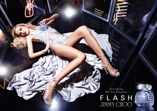 Natasha Poly per FLASH by Jimmy Choo