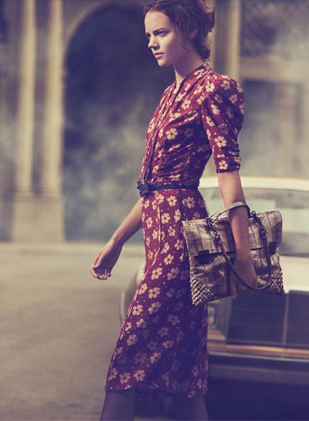 Campagna pubblicitaria Bottega Veneta Spring-Summer 2013