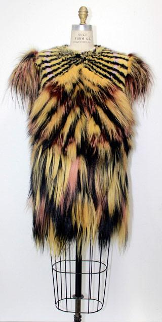 pelliccia multicolor fendi firenze
