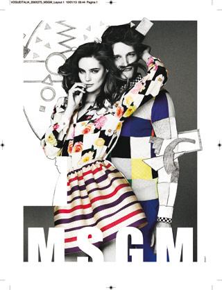 msgm spring-summer 2013 adv