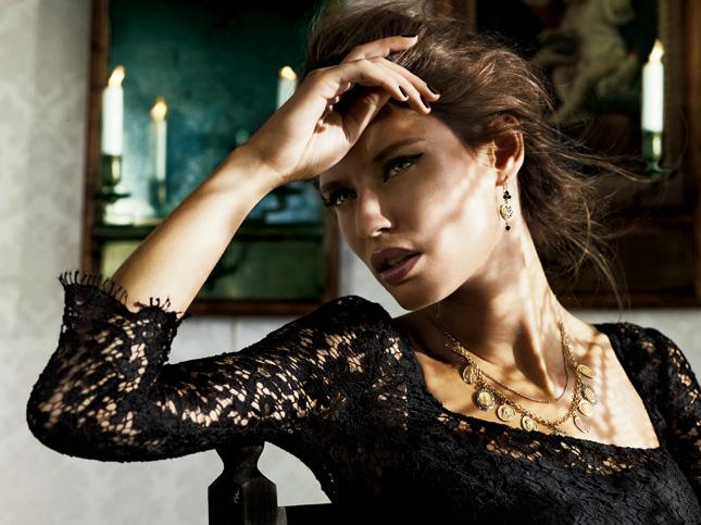 Bianca Balti per Dolce & Gabbana Beauty