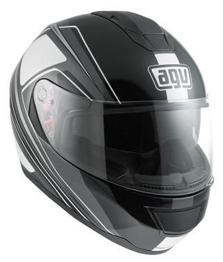 agv casco illuminato