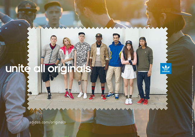 adidas Originals lancia la campagna 'Unite All Originals'