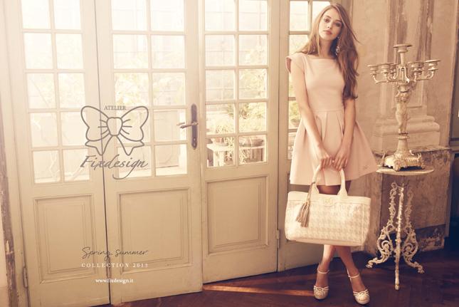 campagna spring-summer 2013 fixdesign abbigliamento romantico