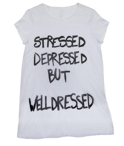 Stressed, depressed but welldressed, Alysi