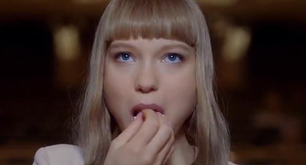 Léa Seydoux per Prada Candy l'Eau