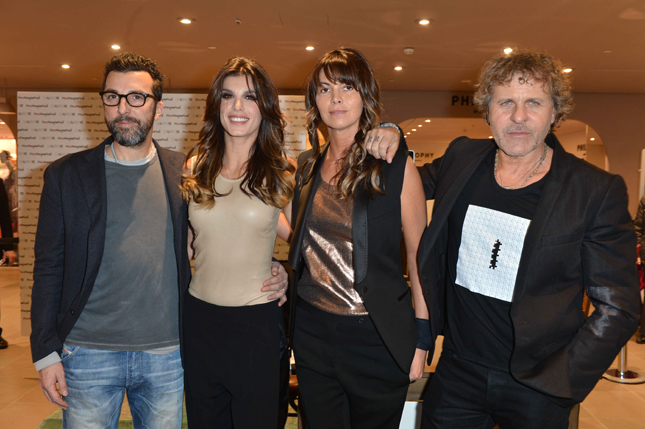 elisabetta canalis calibro 12 renzo rosso first people first