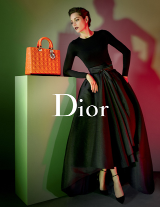 marion cotillard lady dior bag campagna pubblicitaria