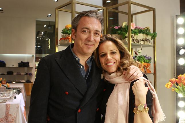 Giorgia Caovilla con il marito Matteo Masiero