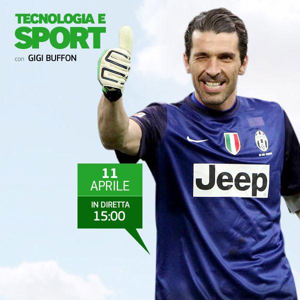 Appuntamento con Gianluigi Buffon