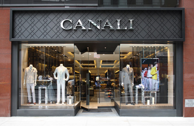 Boutique Canali a New York