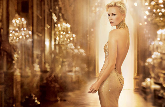charlize theron dior wallpaper