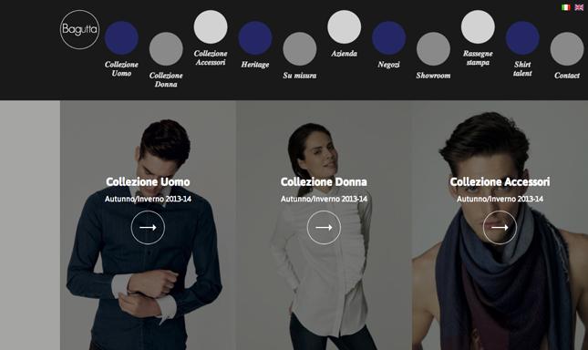 Bagutta sito internet camicia