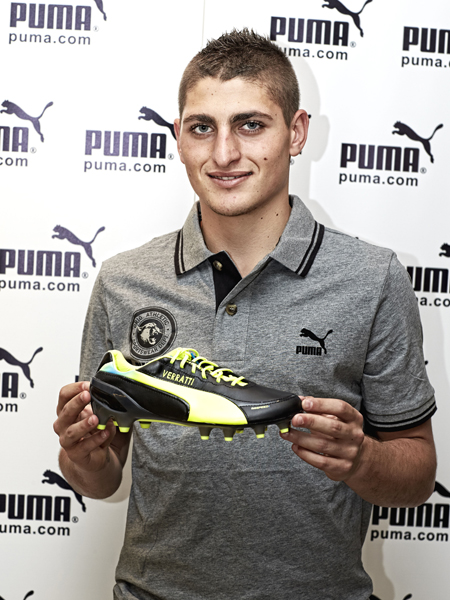 Marco Verratti per Puma