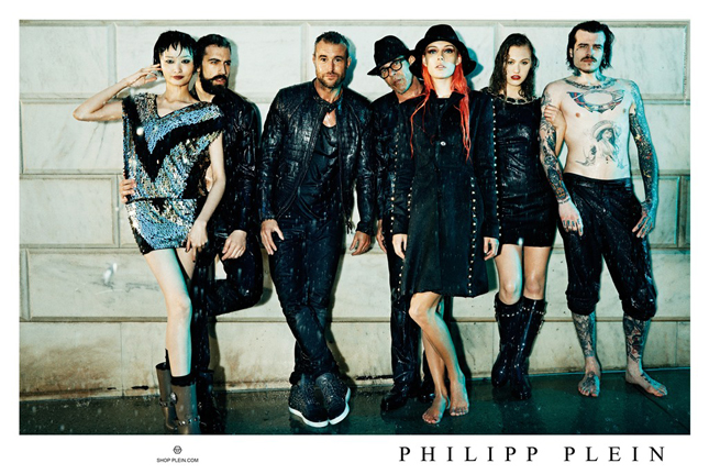 philipp plein campagna pubblicitaria fall-winter 2013/2014