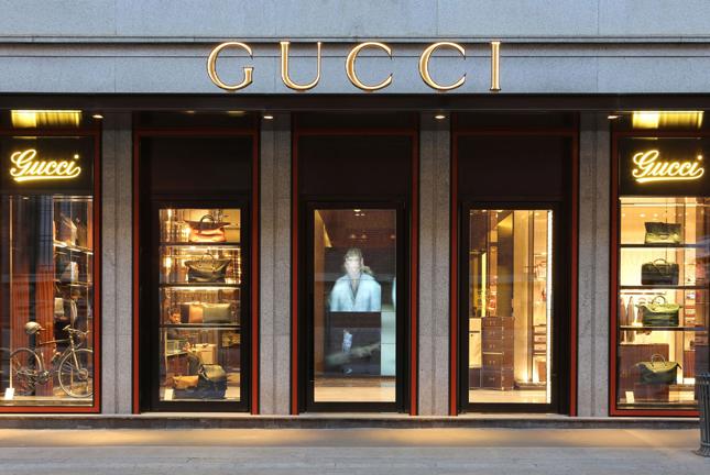 Negozio Gucci in Brera, Milano