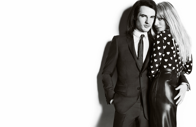 Tom Sturridge e Sienna Miller per Burberry