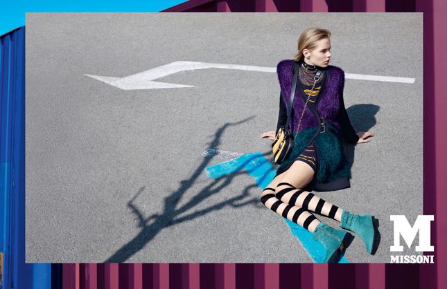 M Missoni campagna pubblicitaria Fall-Winter 2013/14